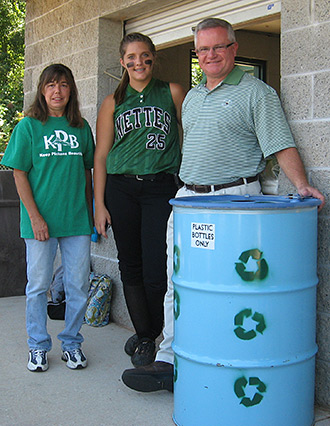 KPB and 'Nettes team up for recycling