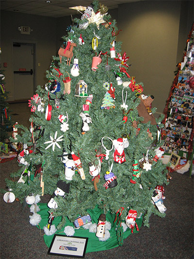 Ornaments for Keep Pickens Beautiful Tree Made By Harmony Elementary School Students