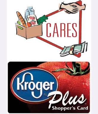 Donate to CARES With Rewards from Your Kroger Plus Card