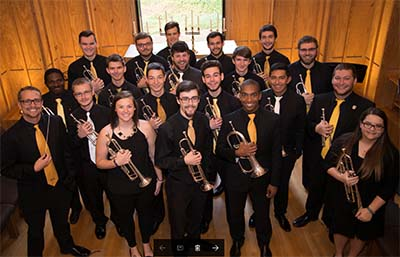 KSU Trumpet Studio Returns to Holy Family