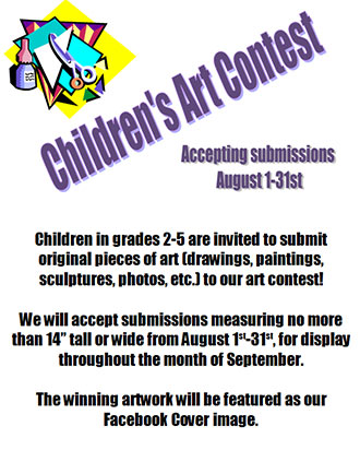 Children's Art Contest at the Pickens County Library