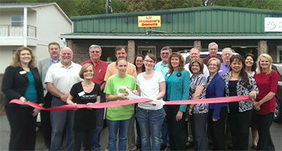 Pickens County Chamber Recognizes Lil Momma's Donuts with a Ribbon Cutting
