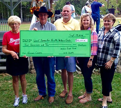 Jasper Lions Club Makes Donation To Good Samaritan Heath & Wellness Center