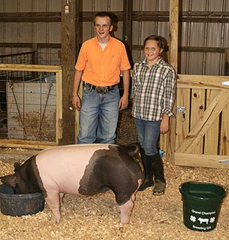Pickens County 4-H Hosts Livestock Show