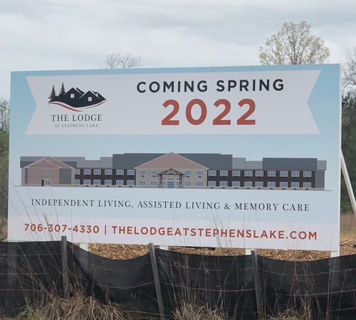 First Active Adult, Independent Living, Assisted Living, and Memory Care Community in Jasper, GA Expands Phased Construction