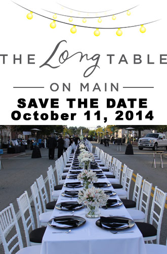 The Long Table on Main raises $50,000 will repeat in 2014