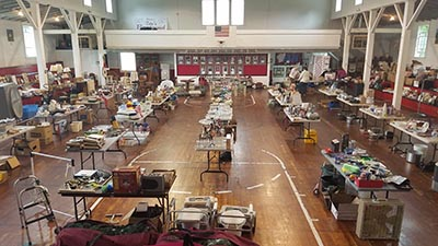 Marble Valley Friends Yard Sale at Old Tate Gym