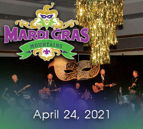 Mardi Gras in the Mountains Rescheduled for April