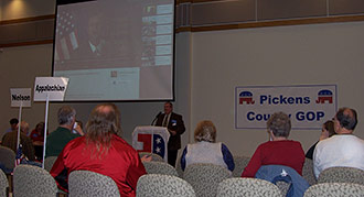 Pickens County Mass Precinct Meets At Chattahoochee Tech