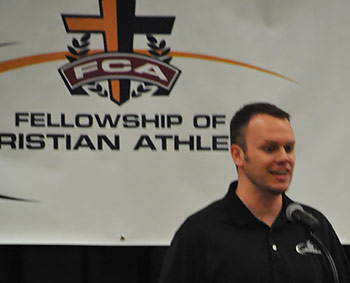Matt Queen, Highway 515 FCA Director Guest Speaker at Fellowship Presbyterian Church