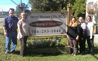 Sheryl Messner, CPA - Chamber's October Small Business of the Month