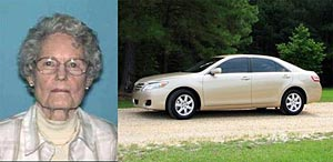 UPDATE:  Missing 89 Year-Old Pickens County Woman Found
