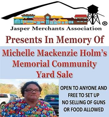 JMA's Community Yard Sale in Memory of Michelle Mackenzie Holm