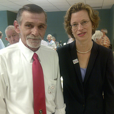 Democratic U.S. Senate Candidate Michelle Nunn Meet 'n Greet