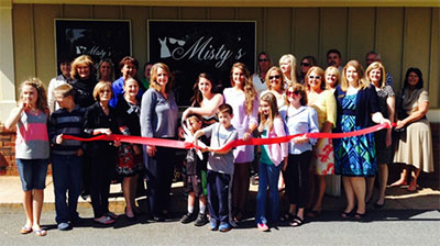 Pickens County Chamber Recognizes Misty's Boutique & Massage with a Ribbon Cutting