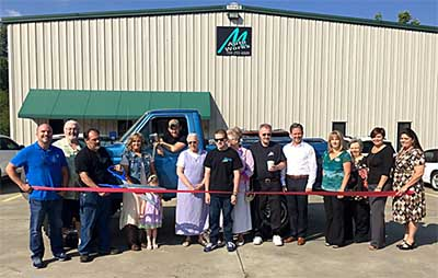 Pickens County Chamber Recognizes Moore Auto Works with a Ribbon Cutting Ceremony