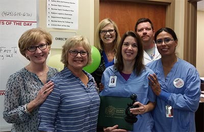 Piedmont Mountainside Nurse Wins DAISY Award