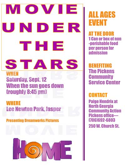 Movie Under the Stars:  'Home'