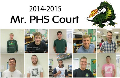 2014-2015 Mr. PHS Court Announced