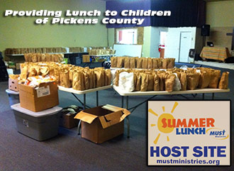 Summer Lunch from MUST Ministries