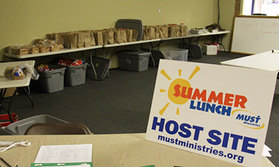 Volunteers Needed for Summer Lunch Program by MUST Ministries