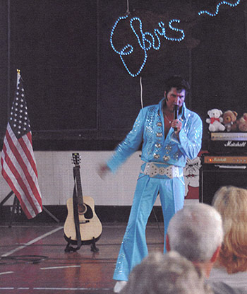 Elvis Tribute Show Rocks Old Tate Gym