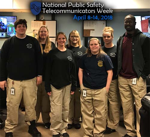 Celebrate Pickens 911 Staff During National Public Safety Telecommunicators Week