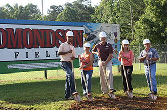 Nelson Park Bond Project Ground Breaking