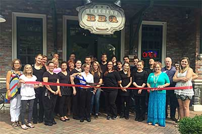 Pickens County Chamber Recognizes Ed & Lucy�s Italian Bistro, Forks Deli, and Reverend Billy�s BBQ with a Ribbon Cutting Ceremony