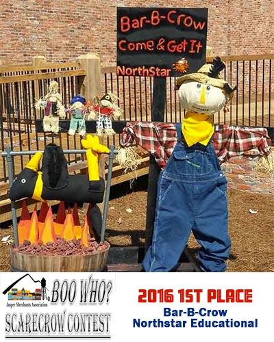 JMA's Boo Who? Scarecrow Contest