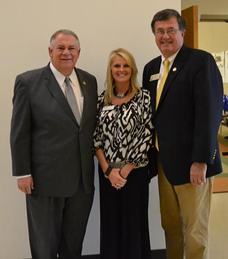 Speaker of the House David Ralston spoke at the Pickens Chamber of Commerce November Breakfast