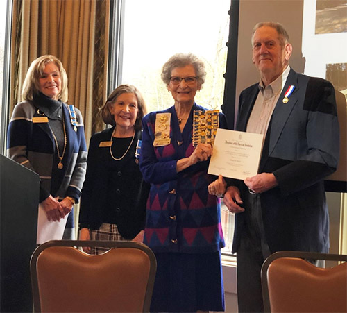 The National Society Daughters of the American Revolution (NSDAR) Conservation Award Recipient - Don Wells