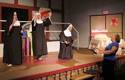 Nunsense opens this weekend