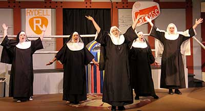 NUNSENSE : A FINE EVENING OF FUN FROM TATER PATCH PLAYERS