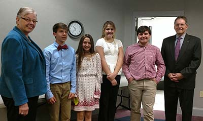 Optimist Club Contest Winners