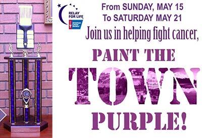 Paint The Town Purple Contest