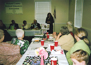 Pickens Retired Educators Were Busy at April Meeting