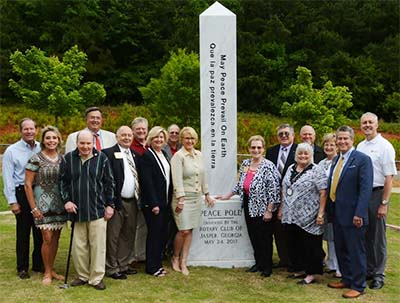 Rotary Peace Pole Dedication Video