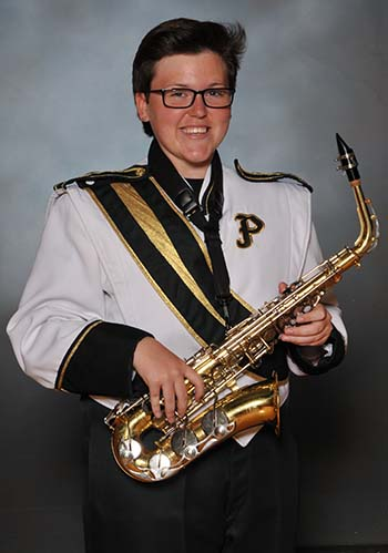 PHS Band Member of the Week: Allyson Dean.