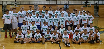 50 Players Attended Dragons Summer Basketball Camp