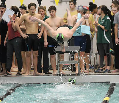 PHS Swim Team Competes in Calhoun