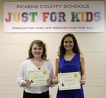 PHS 2016 Valedictorian & Salutatorian Announced