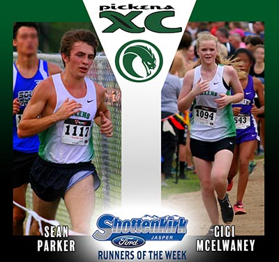 McElwaney and Parker Named PHS XC Runners of the Week