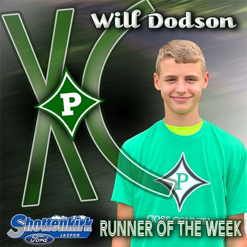 Adriana Vann and Will Dodson Named Pickens XC Runners of the Week
