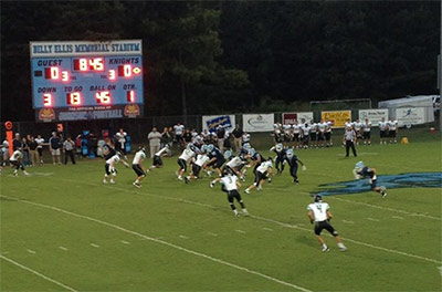 Pickens DRAGONS beat Johnson High School 49-6