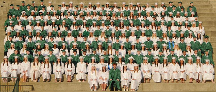 Pickens High School Graduates Class Of 2014