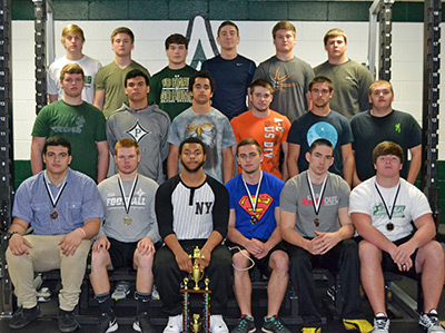 PHS Competed in GACA Class AAAA State Weight Lifting Meet