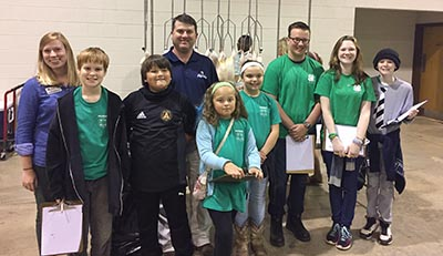 4-H Poultry Team Takes Home Third Place