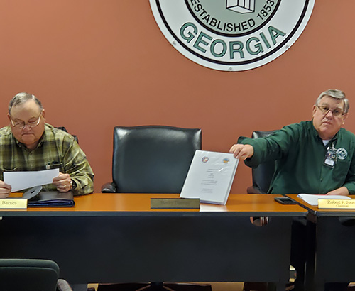 Pickens County Board of Commissioners Called Meeting March 2020