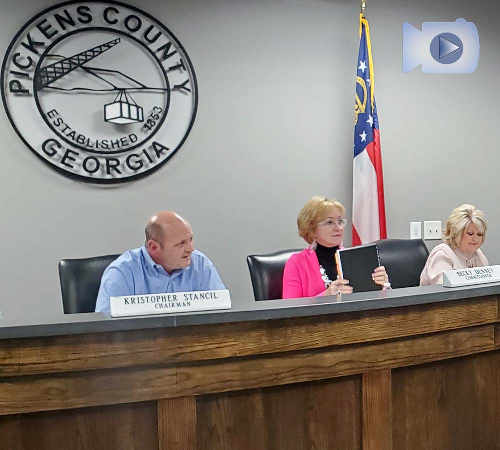 Pickens County Board of Commissioners September 16, 2021